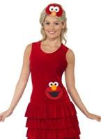 Adult Sesame Street Elmo Costume [38676]