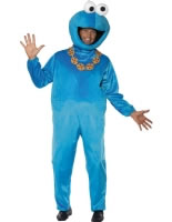 Adult Sesame Street Cookie Monster Costume [32997]