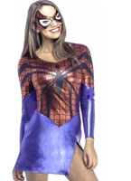 Adult Sexy Spidergirl Costume
