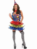 Adult Sexy Clown Costume