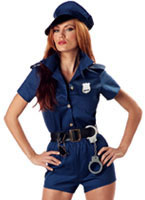 Sexy Cop Lady Costume