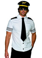 Sexy Mile High Pilots Costume [31871]