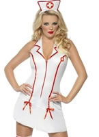 Adult Sexy Nurses Costume [28064]