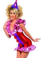 Adult Sexy Playtime Clown Costume