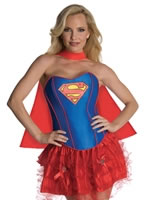 Adult Sexy Supergirl Tutu Costume [880558]