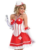 Adult Sexy Tutu Nurse Costume