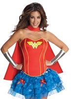 Adult Sexy Wonderwoman Tutu Costume