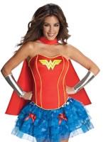 Adult Sexy Wonderwoman Tutu Costume