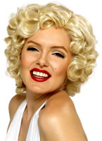 Short Marilyn Monroe Wig Blonde [42207]