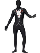 Adult Shot Gangster Second Skin Costume [24616]
