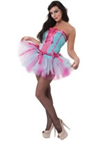 Silky Smooth Burlesque Showgirl Costume [996427]