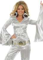 Silver Dancing Queen Costume