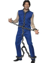 Silver Full Body Convict Chains [30652]