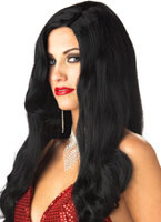 Silver Screen Sinsation Black Wig [70470]
