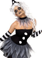 Adult Sinister Pierrot Costume [34226]