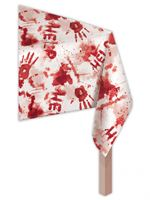 Sinister Surgery Bloody Plastic Tablecover