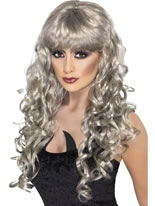 Adult Silver Siren Wig