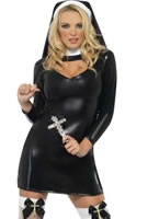 Adult Sister Bliss Nun Costume [28069]