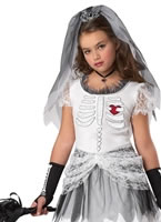 Child Skela Bride Costume