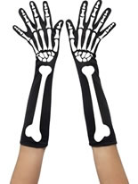 Adult Skeleton Gloves [28416]