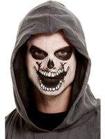 Skeleton Mouth Face Transfer Makeup Kit