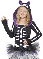 Child Skelly Cat Costume