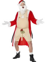 Adult Sleazy Santa Costume