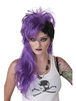 Smash Punk Purple Wig