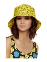 Smiley Printed Bucket Hat [52419]