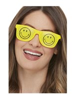 Smiley Rave Glasses [52329]