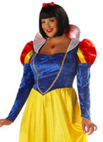 Adult Plus Size Fairytale Snow Costume