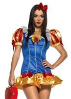 Adult Fairytale Snow Princess Costume [83391]