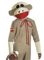 Sock Monkey Costume [D28686]