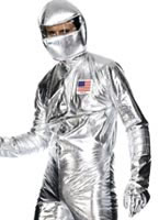 Adult Spaceman Costume Silver [30821]