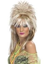 Sparkle Rock Diva Wig