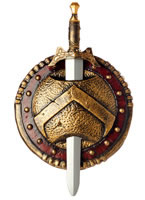 Spartan Combat Shield and Sword [60566]