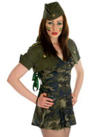 Special Forces Girl Costume [FS2268]