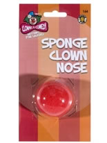 Sponge Clown Nose