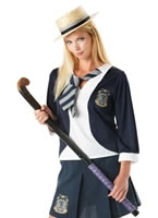Adult St Trinians Classic School Girl Costume [889797]