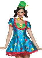 Adult Star Clown Adult Female Costume