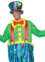 Adult Star Clown Adult Male Costume