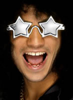 Star Shaped Superstar Shades Silver