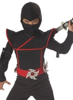 Child Stealth Ninja Costume [00228]