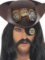 Steampunk Eyepatch with Cog