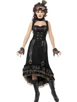 Adult Steam Punk Vamp Costume [24493]