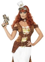 Adult Steam Punk Wild West Costume [28721]