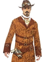 Adult Steam Punk Wild West Costume [28722]