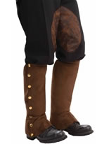 Steampunk Brown Spats [66244]