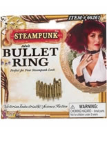 Steampunk Bullet Ring [66261]