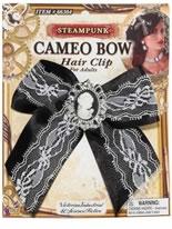 Steampunk Cameo Hair Clip